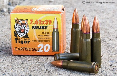 New Golden Tiger 7.62x39 1000 rounds