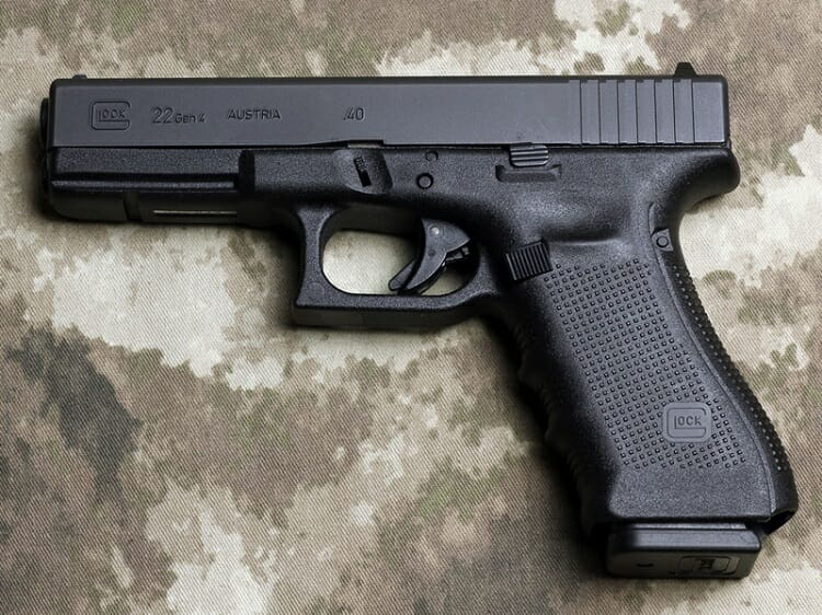 GLOCK 22 GEN 4 review - 1