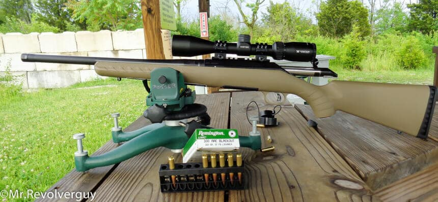 Ruger American Ranch Rifle - 300Blackout