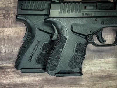 Springfield Armory XD-S - Grip Texture