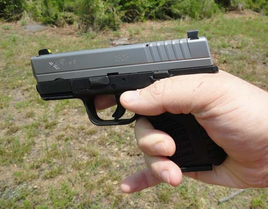 Springfield Armory XD-S on hand