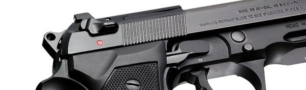 Beretta 96A1 - safety